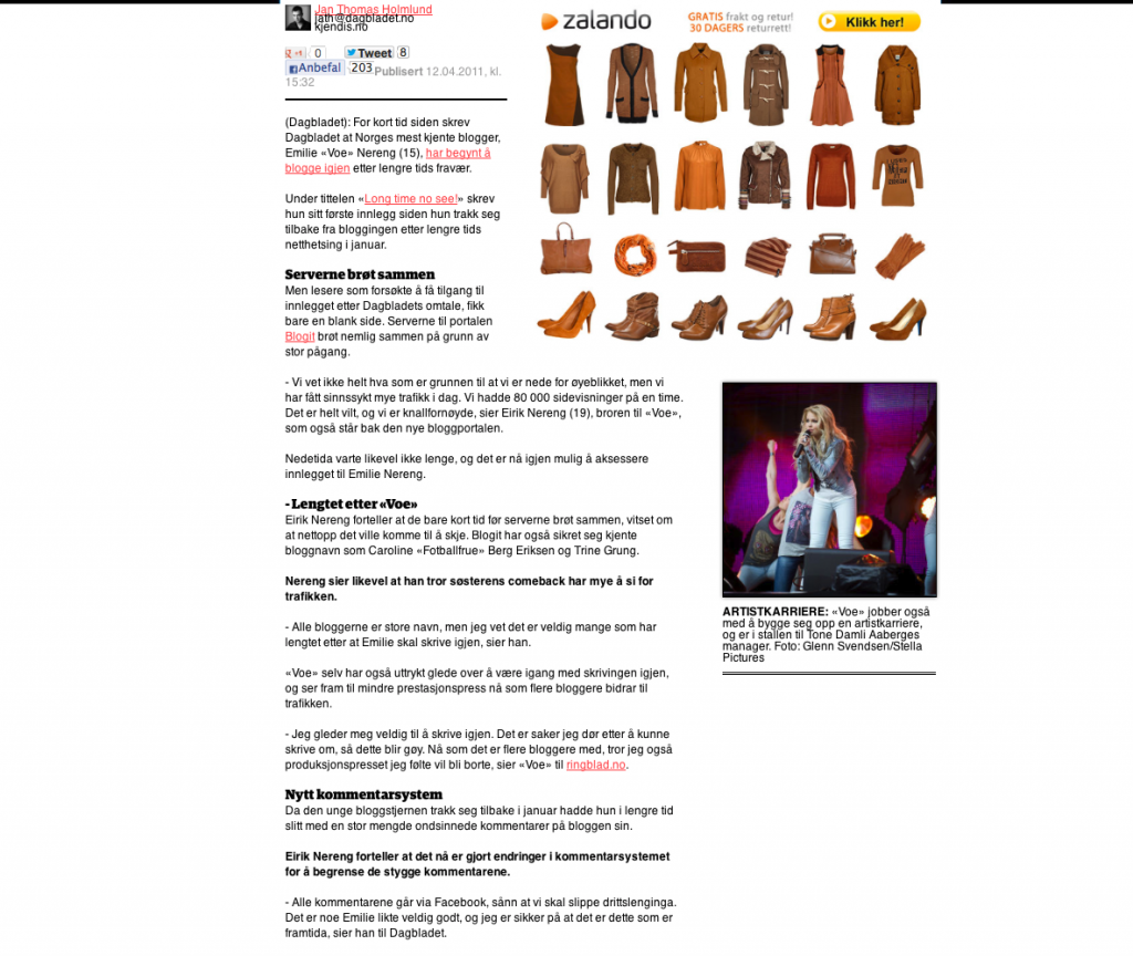 Dagbladet blogit lansering del 2